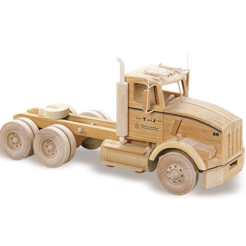 Wooden Trucks Toys And Joys : Kenworth truck plan quot