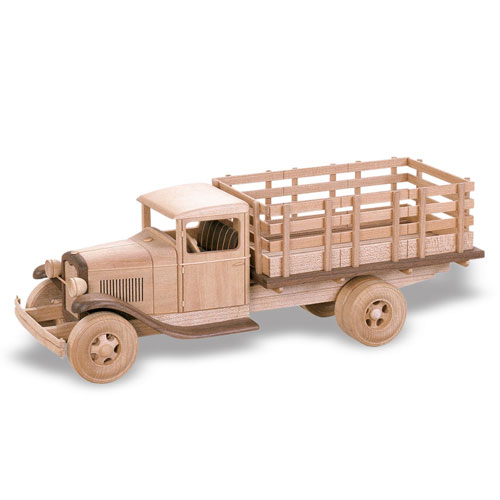 """1929 Ford Stake Bed Truck Plan (19"""")"""