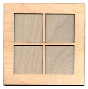 window frame kit 7 34 square - Window Frame Kit
