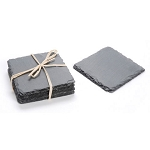 Slate Coaster 4pc Set - 4