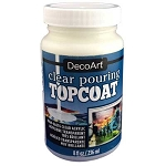DecoArt Clear Pouring TopCoat - 8oz