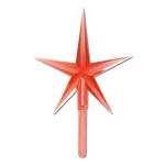 Red Star for Ceramic Tree - 2 3/4