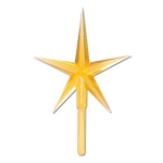 Gold Star for Ceramic Tree - 2 3/4