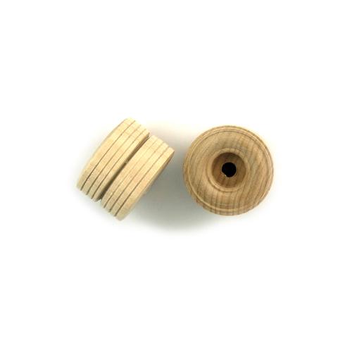 "Home > Wood Parts > Dual Tread Wheels - 1 1/2"" x 1"""