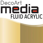 Media Fluid Acrylic Interference Gold - 1oz