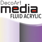 Media Fluid Acrylic Interference Violet - 1oz