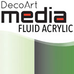 Media Fluid Acrylic Interference Green - 1oz