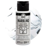 FolkArt Marbling Paint - White 2oz