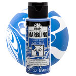 FolkArt Marbling Paint - Blue 2oz