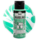 FolkArt Marbling Paint - Green 2oz