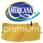 Tube Metallic-Gold - Americana Premium 2.5oz