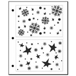 Stencil - Stary Snow Backgrounds