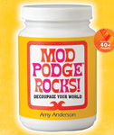 Mod Podge Rocks by Amy Anderson