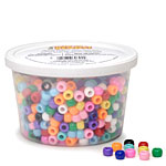 Tub-o-beads - Opaque Pony Beads - 7oz