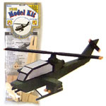 Wood Model Helicopter Kit