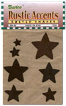 Rusty Stars Assorted Pkg - 7pc