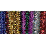 Chenille Stems Tinsel Multi (25pc) - 12