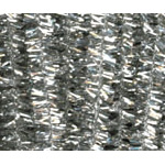 Chenille Stems Tinsel Silver (25pc) - 12