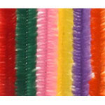 Chenille Stems Fuzzy (12pc) - 12