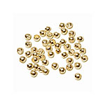 Crimp Beads 2.5mm Gold 2gr