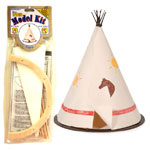 Wood Model Tepee Kit