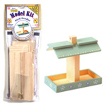 Wood Model Kit Bird Feeder