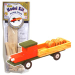 Wood Model Kit Pickup Truck
