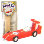 Wood Model Race Car Kit
