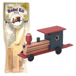 Wood Model Train Kit