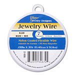 Nylon Coated Beading Wire - Black 7 strand x 30'
