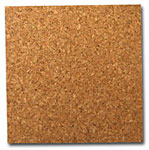 Cork Wall Tile (4pc) - 6