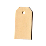 Postal Tag (Die Cut Plywood) - 2 3/8