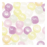 Pony Beads Glow-in-the-Dark - 70pc