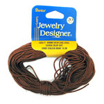 Beading Cord-Brown - 1mm - 20 yards