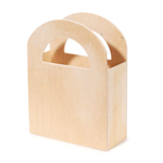 Wood Favor Box - 4 1/2