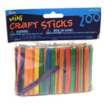 Craft Sticks-Coloured 3