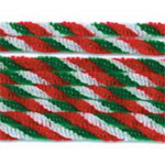 Chenille Stems Twist Holiday Colours (10pc) - 12