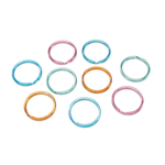 Split Ring Fashion Colours - 32mm - 32pc