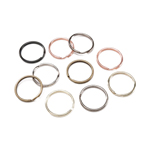 Split Ring Metallics - 32mm - 32pc