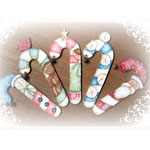 Deb Antonick Packet - Wintry Candy Canes