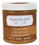 Decor Creme Wax 8oz - Golden Brown