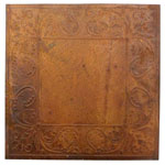 Vintage Rusty Tin Tile - 8