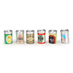 Beer Cans - 6pc