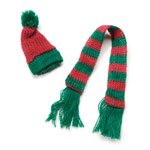 Hat & Scarf Set - 10 1/2