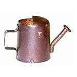 Rusty Watering Cans (3pc) - 3/4
