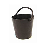 Rusty Metal Pails (3pc) - 3/4