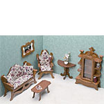 Dollhouse Kit - Living Room Set
