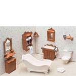 Dollhouse Kit - Bathroom Set