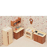 Dollhouse Kit - Kitchen Set