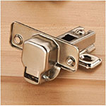 Euro Style 110 Half Overlay Hinges - Pair
